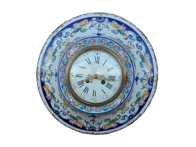 Franse Oeil de Boeuf klok - NL-Antiques