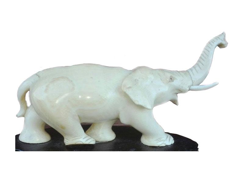 Marmeren olifant - NL-Antiques