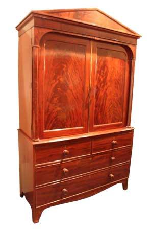 Mahonie kabinet - Engeland - 1850 - NL Antiques
