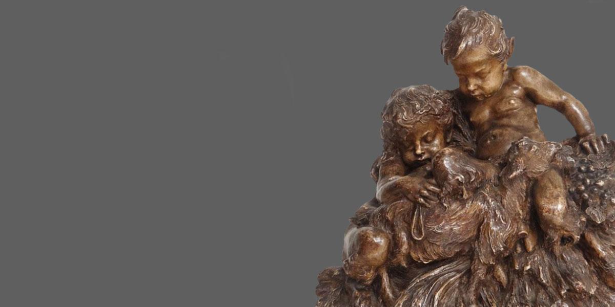 NL Antiques beelden sculptures
