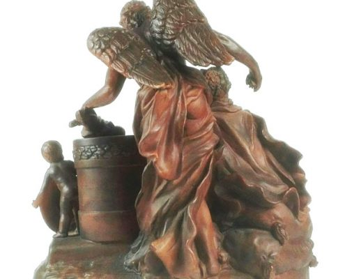 Terracotta beeld - Liefde - NL-Antiques