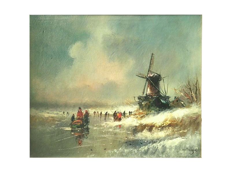 'Van Dongen' - IJsgezicht - NL-Antiques