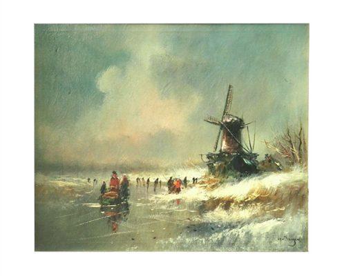 Van Dongen IJsgezicht - NL-Antiques