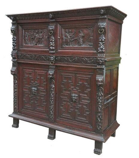 Vlaamse vierdeurskast - NL-Antiques