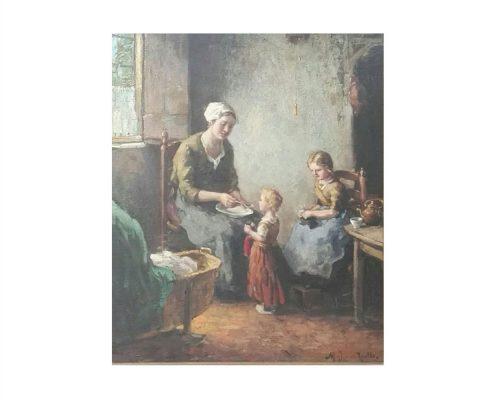 Marnius Julius van Raalte - Moeder en kind - NL-Antiques