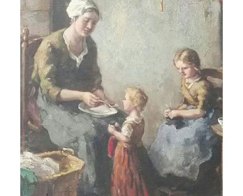 Marius Julius van Raalte - Moeder en kind - NL-Antiques