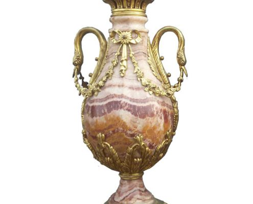 Marmeren siervazen - Frankrijk ca. 1900 - NL-Antiques
