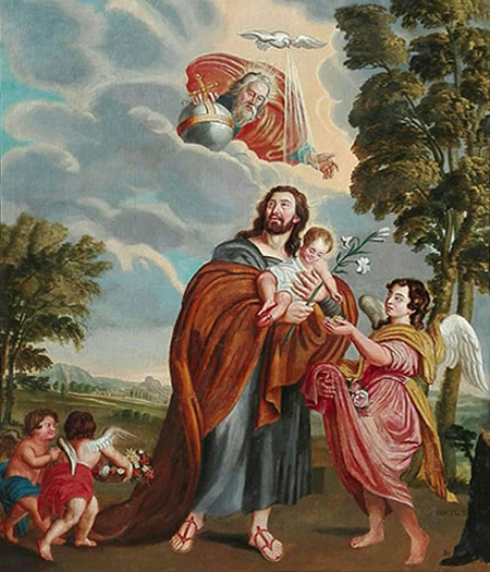 Jean Baptiste Maes – Religieuze voorstelling