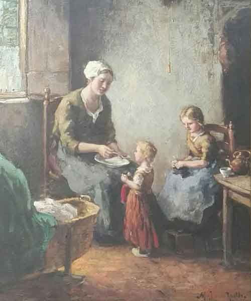 Van Raalte - Moeder met kind