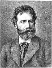 Franz Defregger in 1883
