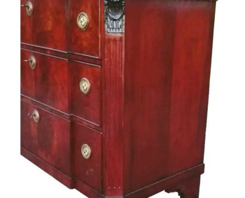 Dutch chest of drawers - mahogany, style Louis Seize