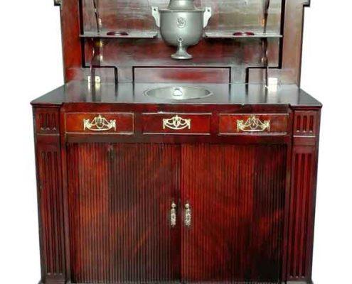 Mahoniehouten klapbuffet - Bufet mahagony - ca. 1780 - NL Antiques