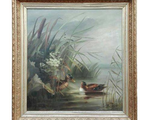 Wilhelmina Johanna Louisa Kiehl - Eenden - NL Antiques