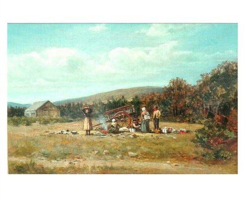 Allan Ramsay - Pauzerend reisgezelschap - NL Antiques