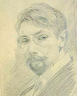 Salomon Garf - Zelfportret (1914)