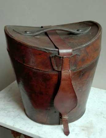 Dubbele Engelse hoedendoos ca. 1880 - NL Antiques