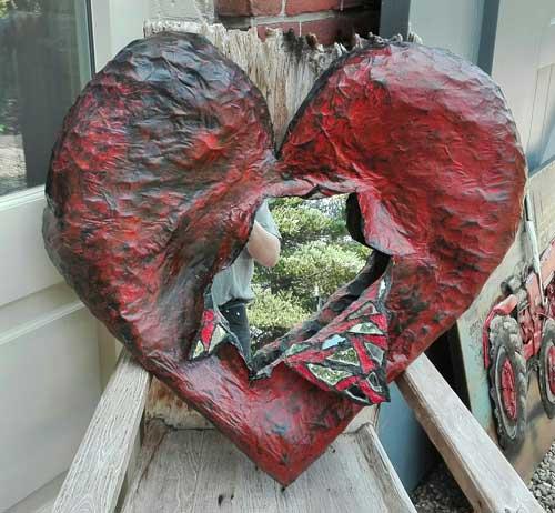 Herman Brood - Open hart Lola - NL Antiques