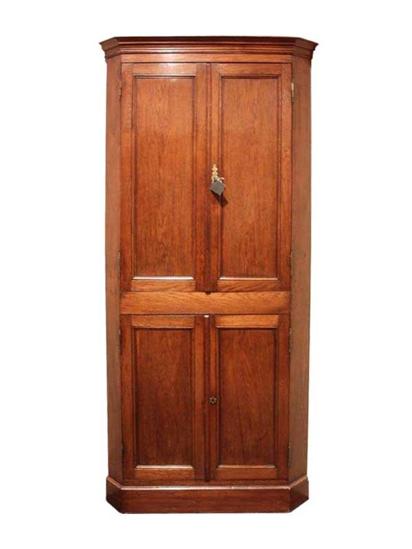 Vierdeurs hoekkast - Engeland - ca. 1780 - NL Antiques