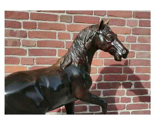 Bronzen paard - NL Antiques