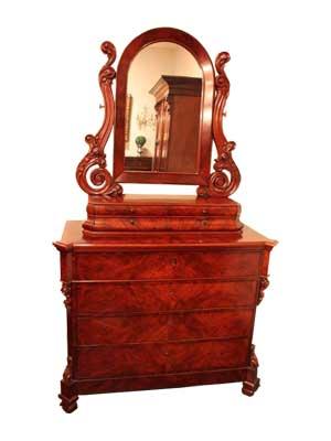 Commode met spiegel - NL Antiques