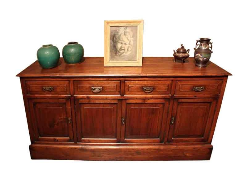 Rustiek vierdeurs dressoir ca. 1900 - NL Antiques
