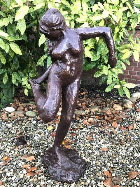 brons sculptuur Danseuse