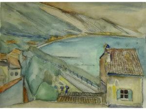 Exclusieve aquarel, Matthieu Wiegman
