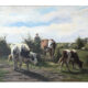 Zomerlandschap met koeien D. P. van Lokhorst (1848-1893)