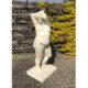 """Sculptuur van, """"levensgroot"""", vrouwelijk naakt."""